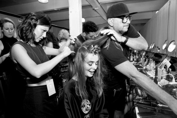 Backstage@Nicole Miller NYFW SS2019 photo by Cheryl Gorski 17