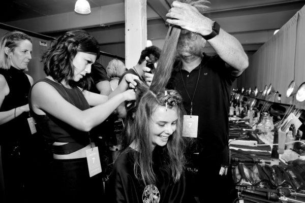 Backstage@Nicole Miller NYFW SS2019 photo by Cheryl Gorski 18