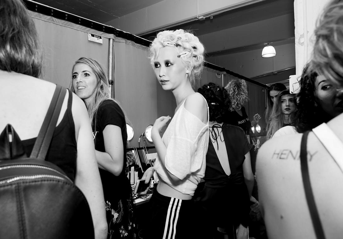 Backstage@Nicole Miller NYFW SS2019 photo by Cheryl Gorski 22