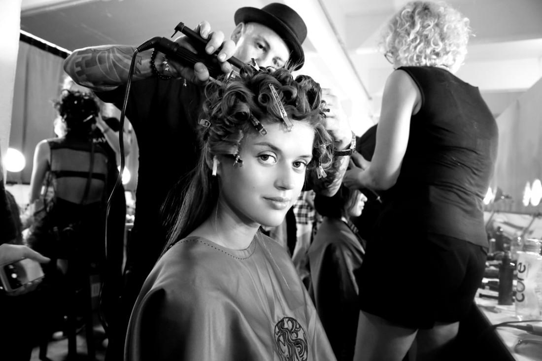 Backstage@Nicole Miller NYFW SS2019 photo by Cheryl Gorski 27