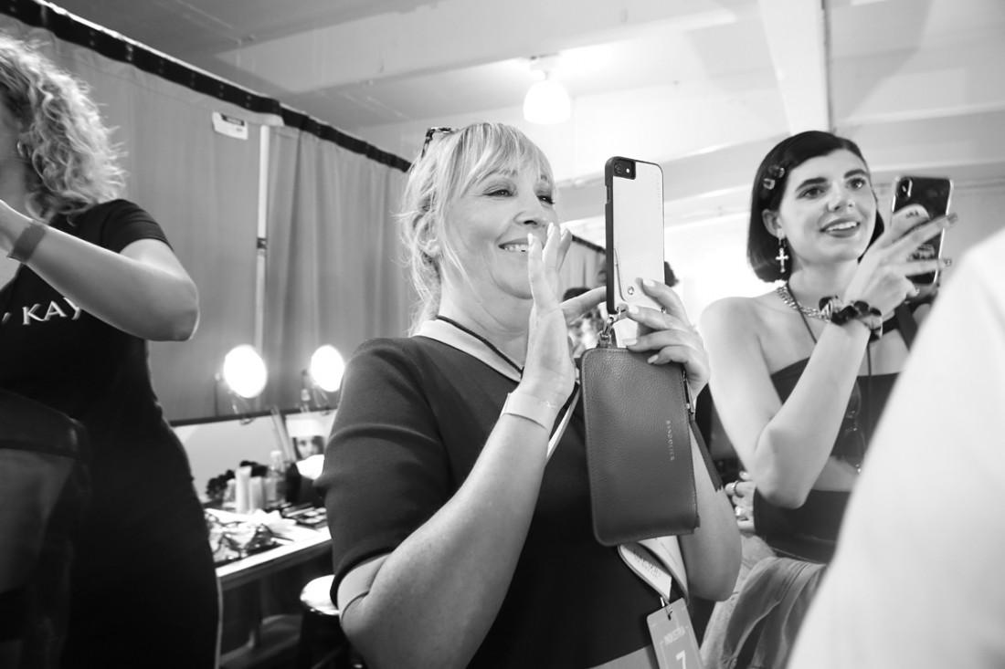 Backstage@Nicole Miller NYFW SS2019 photo by Cheryl Gorski 28