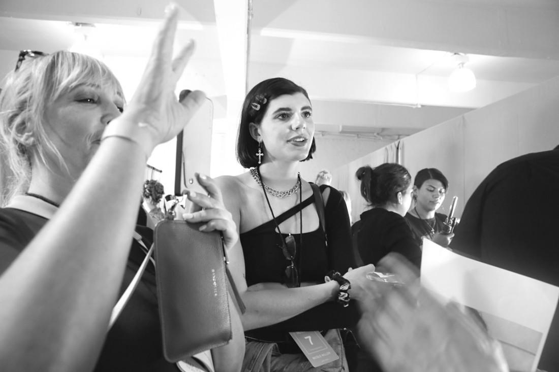 Backstage@Nicole Miller NYFW SS2019 photo by Cheryl Gorski 29