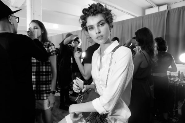 Backstage@Nicole Miller NYFW SS2019 photo by Cheryl Gorski 3