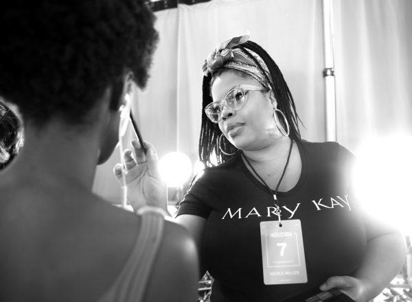 Backstage@Nicole Miller NYFW SS2019 photo by Cheryl Gorski 53