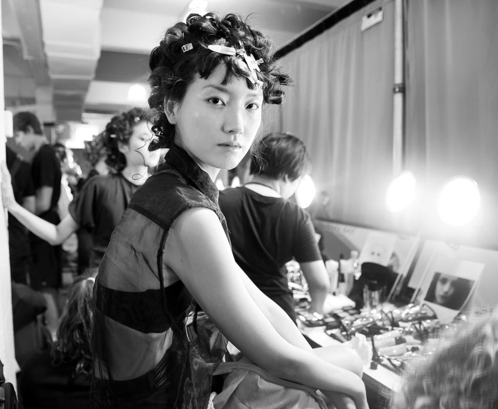 Backstage@Nicole Miller NYFW SS2019 photo by Cheryl Gorski 56