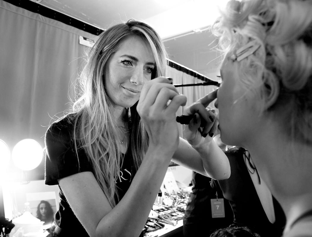 Backstage@Nicole Miller NYFW SS2019 photo by Cheryl Gorski 6