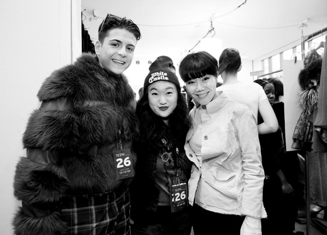 Backstage@Son Jung Wan NYFW FW2018 photo by Cheryl Gorski 7