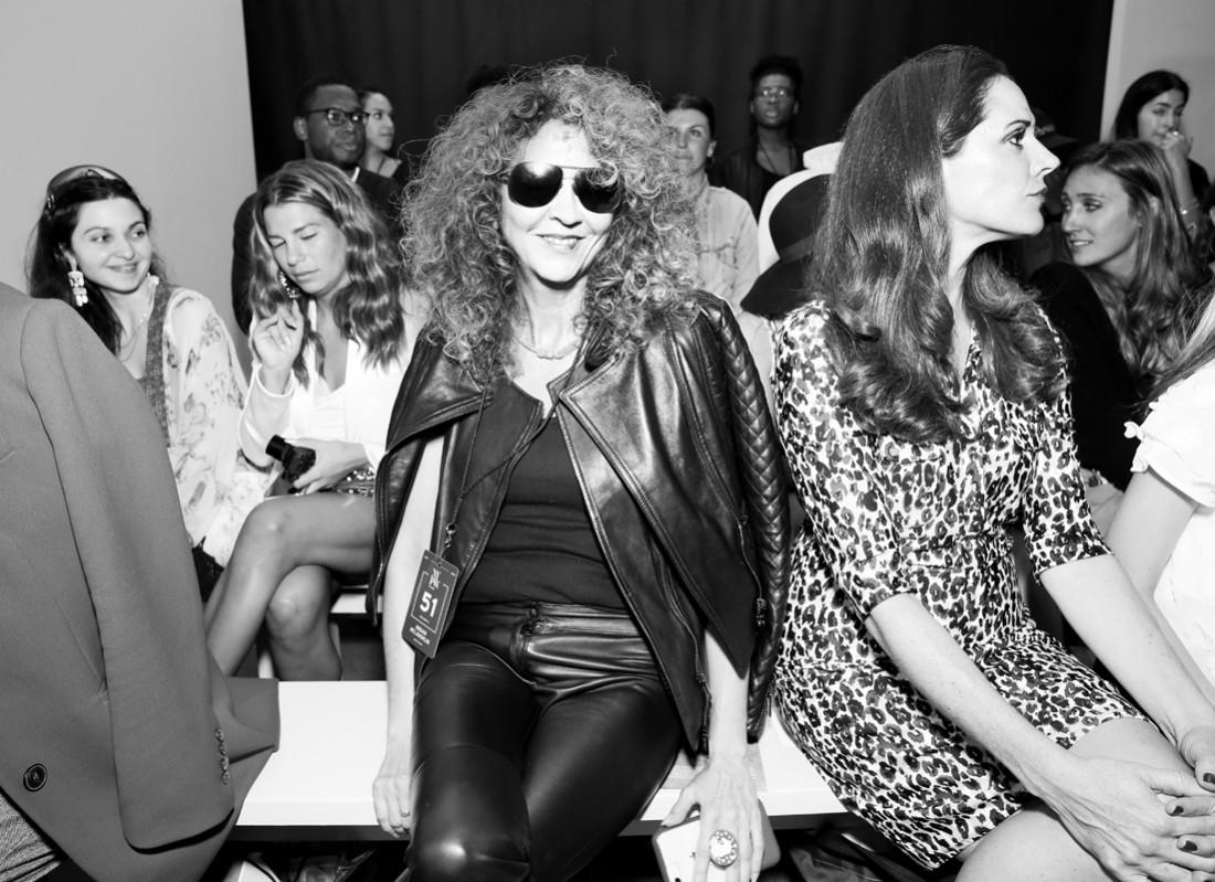 Brigitte Segura Front Row@Hogan McLaughlin NYFW SS2019 photo by Cheryl Gorski 31