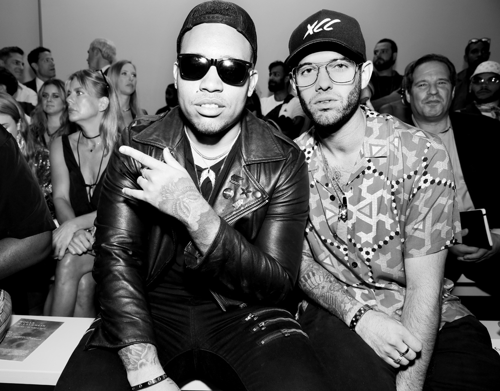 Cam Young and Mike Gomes Front Row@Hogan McLaughlin NYFW SS2019 photo by Cheryl Gorski 23