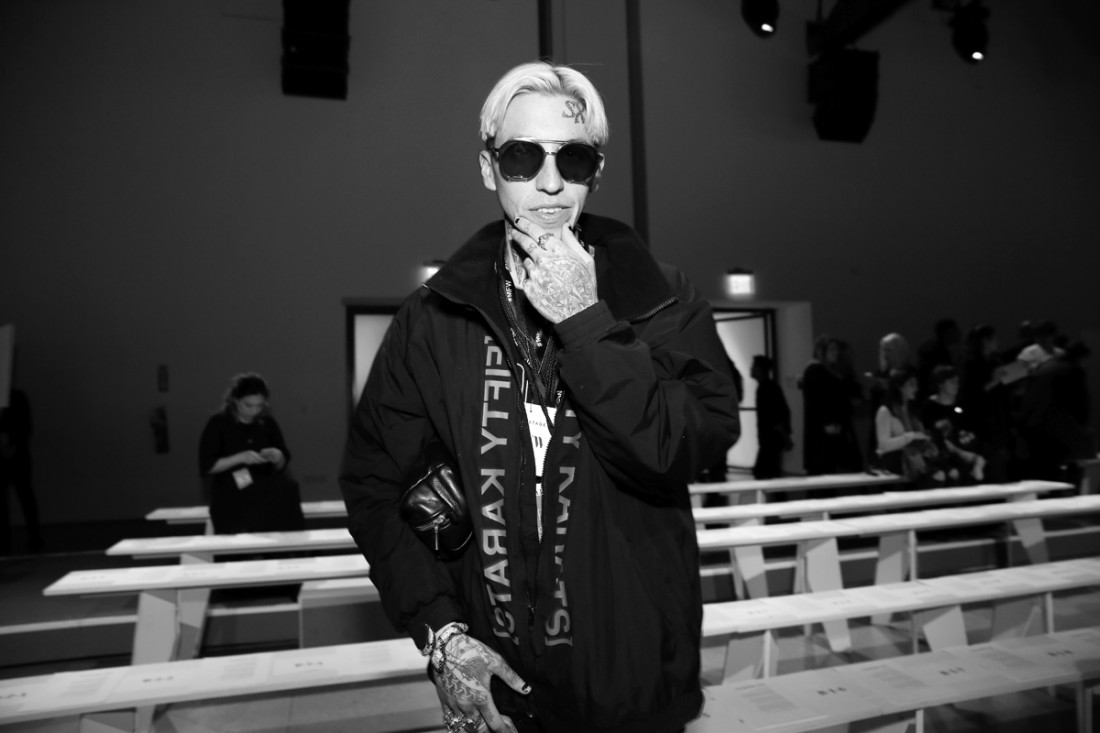 Chris Lavish Front Row@Vivienne Tam NYFW FW2018 photo by Cheryl Gorski 4