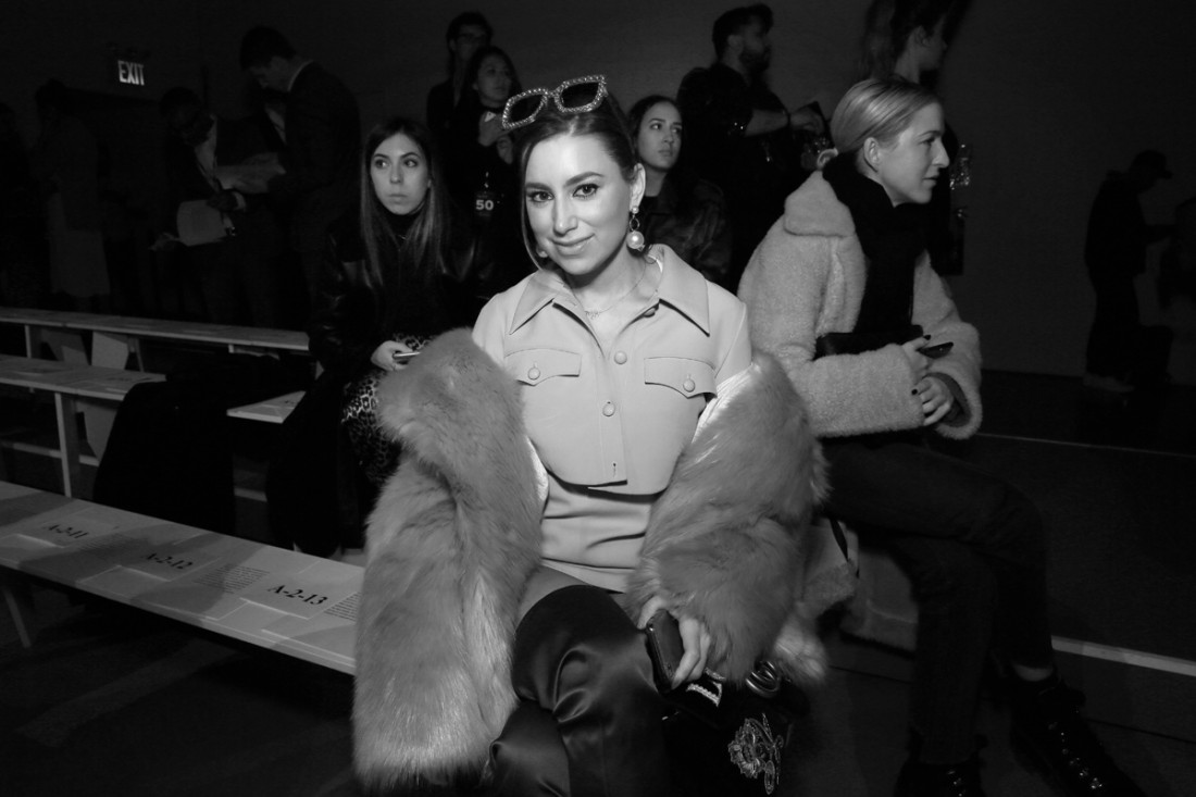 Emily Brickel Front Row @ Naeem Khan NYFW FW2018 photo by Cheryl Gorski 1
