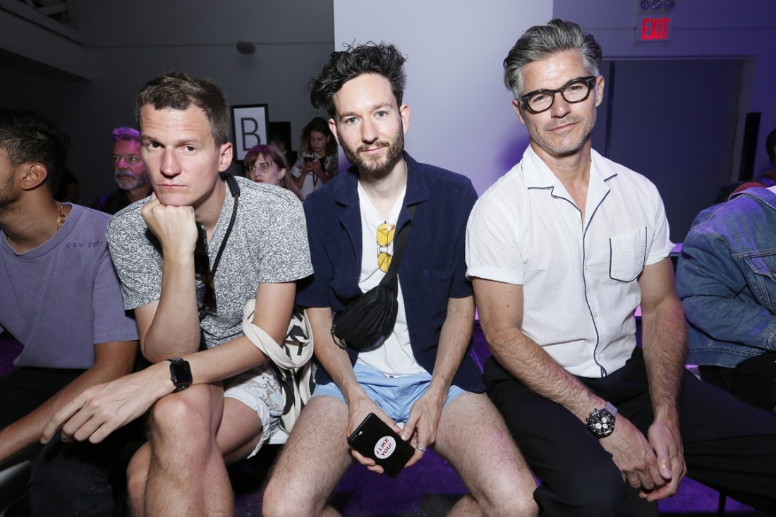 Eric Rutherford Front Row@Feng Chen Wang Mens NYFW SS2019 photo by Cheryl Gorski 10