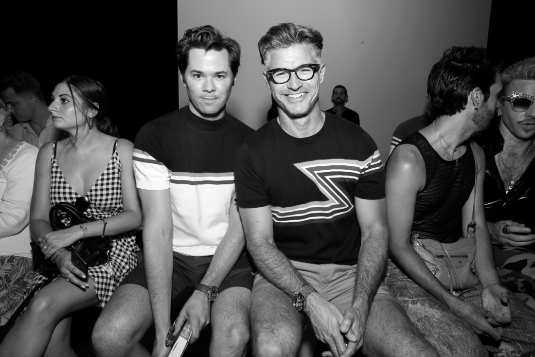 Eric Rutherford Front Row@PARKE RONEN Mens NYFW SS2019 photo by Cheryl Gorski 13