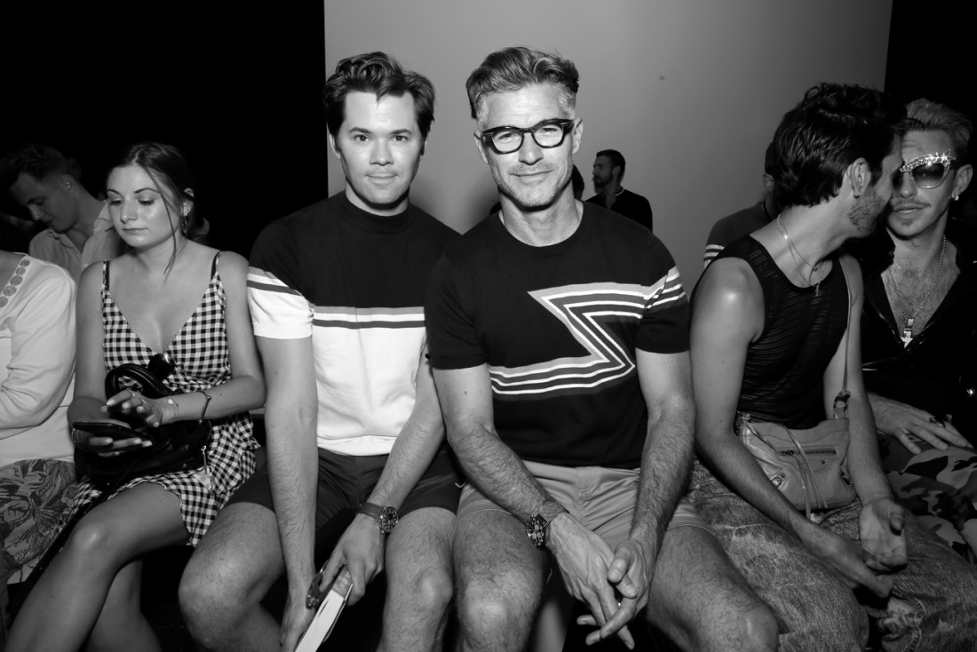 Eric Rutherford Front Row@PARKE RONEN Mens NYFW SS2019 photo by Cheryl Gorski 14