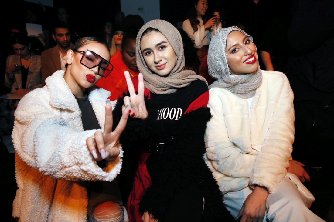 Front Row @ Naeem Khan NYFW FW2018 photo by Cheryl Gorski 3