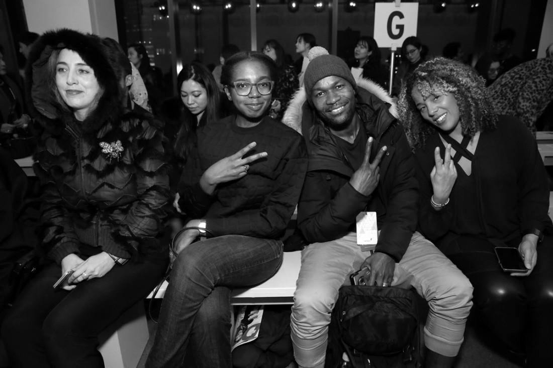 Front Row@ Asia Fashion Collective NYFW photo by Cheryl Gorski 17