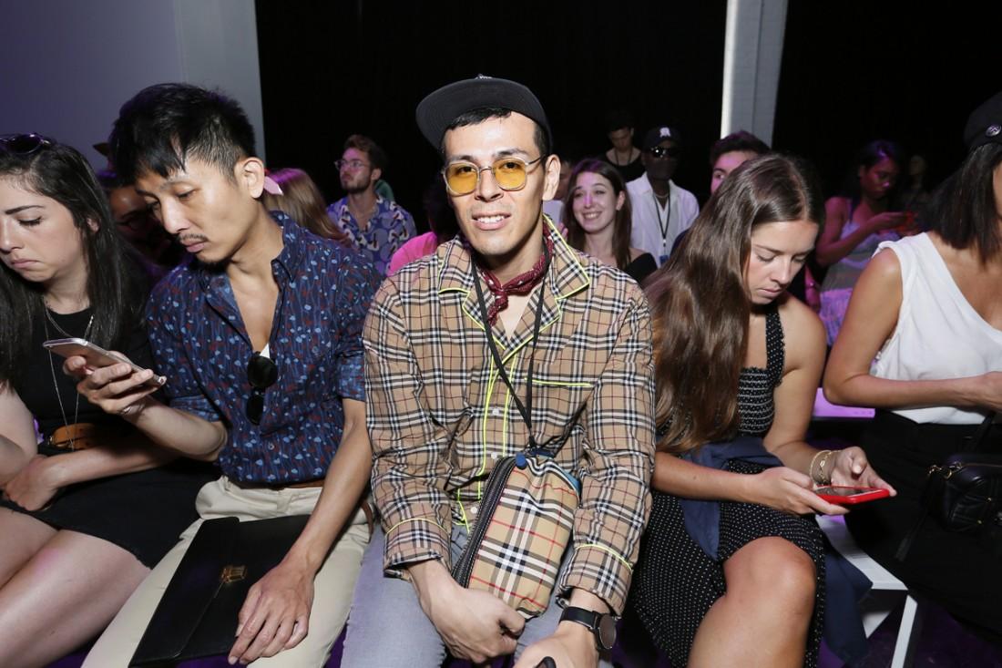 Front Row@Feng Chen Wang Mens NYFW SS2019 photo by Cheryl Gorski 15