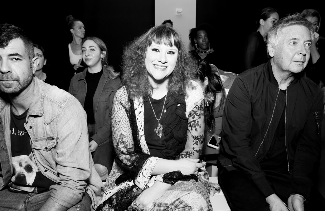 Front Row@Hogan McLaughlin NYFW SS2019 photo by Cheryl Gorski 4