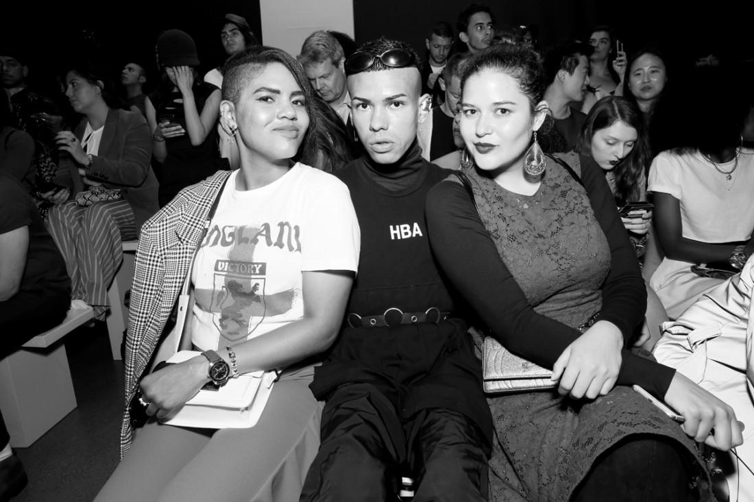 Front Row@Hogan McLaughlin NYFW SS2019 photo by Cheryl Gorski 43