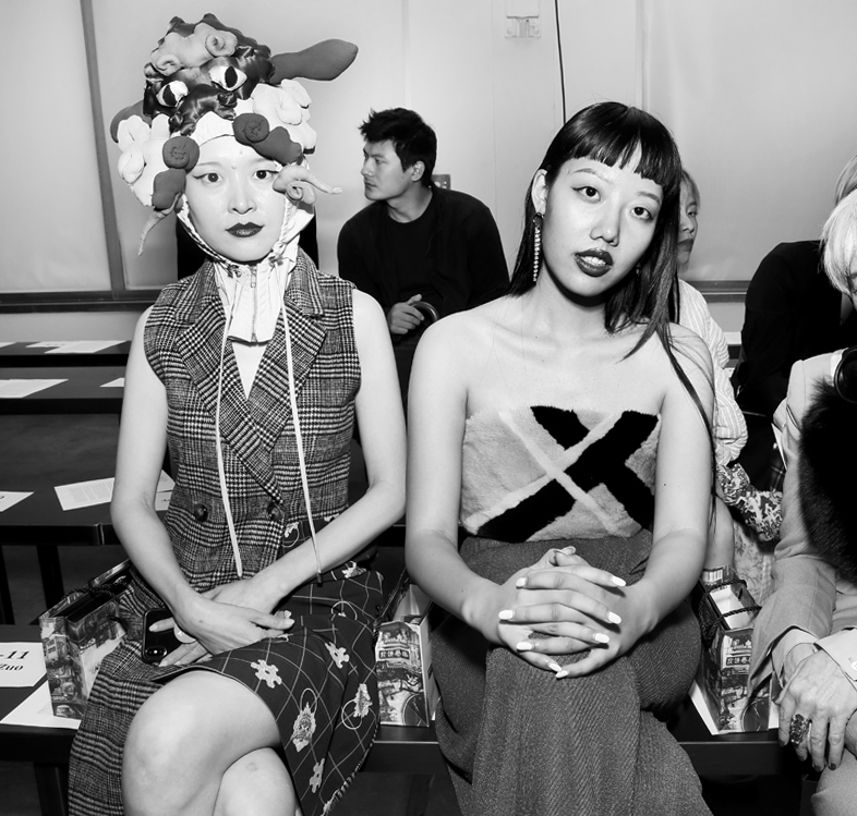 Front Row@Hot Now China NYFW SS2019 photo by Cheryl Gorski 4