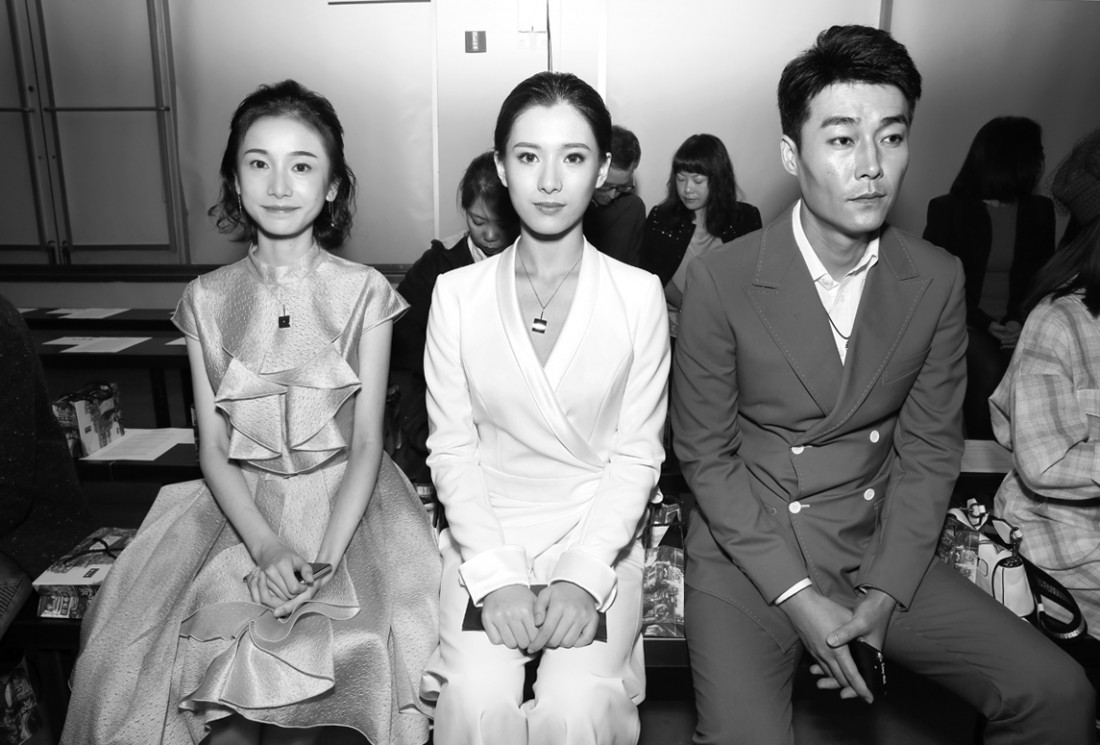Front Row@Hot Now China NYFW SS2019 photo by Cheryl Gorski 6