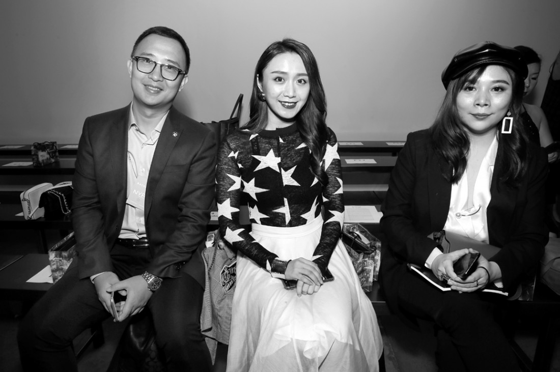 Front Row@Hot Now China NYFW SS2019 photo by Cheryl Gorski 8