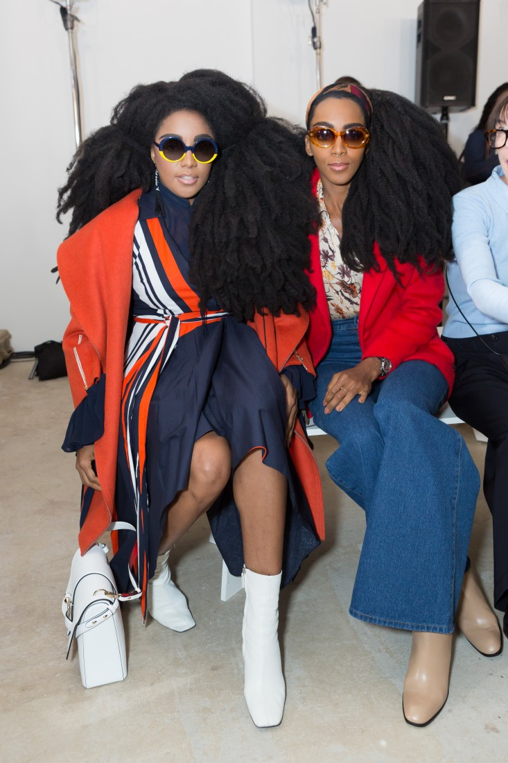 Front Row@Milly NYFW FW2018 photo by Greg Kessler for BFA 1
