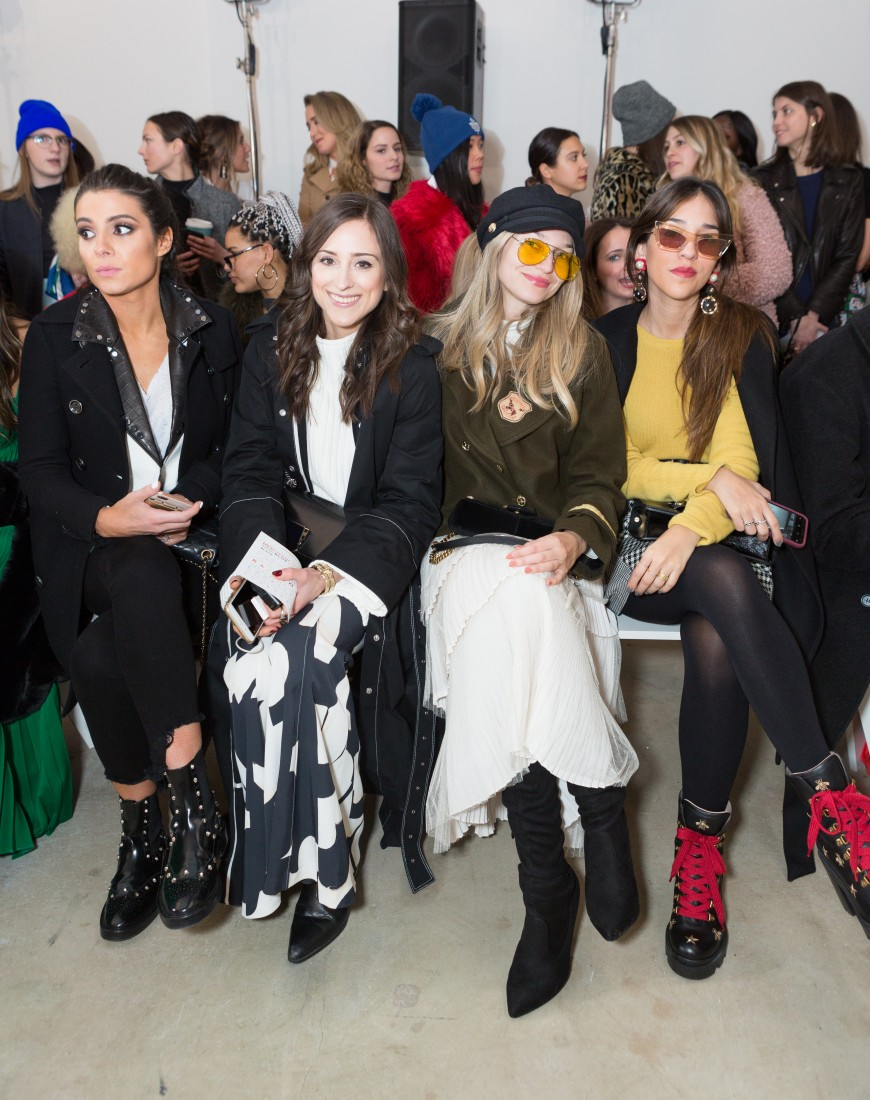 Front Row@Milly NYFW FW2018 photo by Greg Kessler for BFA 22