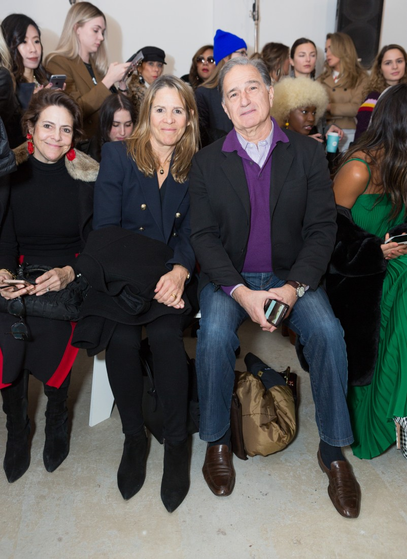Front Row@Milly NYFW FW2018 photo by Greg Kessler for BFA 23