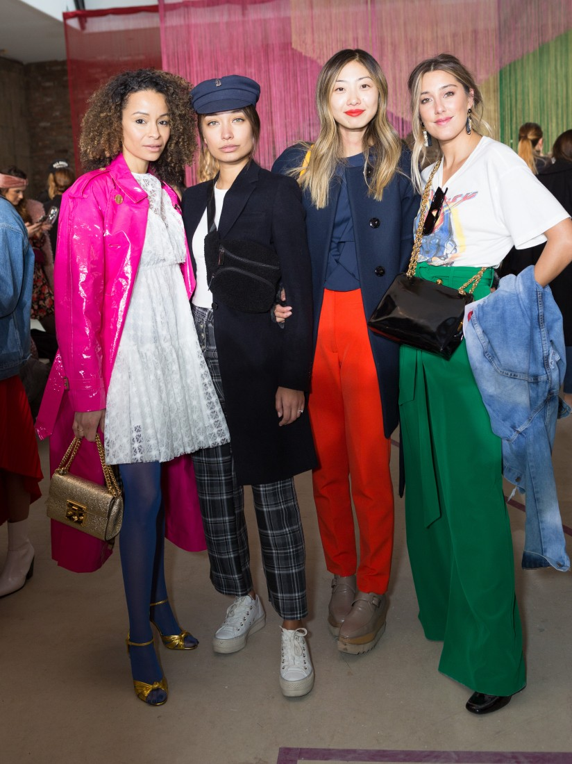 Front Row@Milly NYFW FW2018 photo by Greg Kessler for BFA 26
