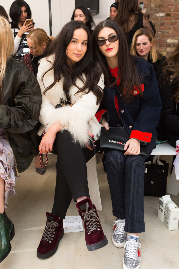 Front Row@Milly NYFW FW2018 photo by Greg Kessler for BFA 4