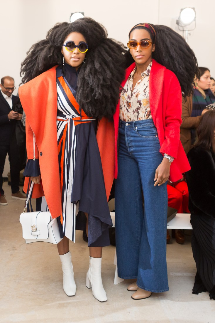 Front Row@Milly NYFW FW2018 photo by Greg Kessler for BFA 6