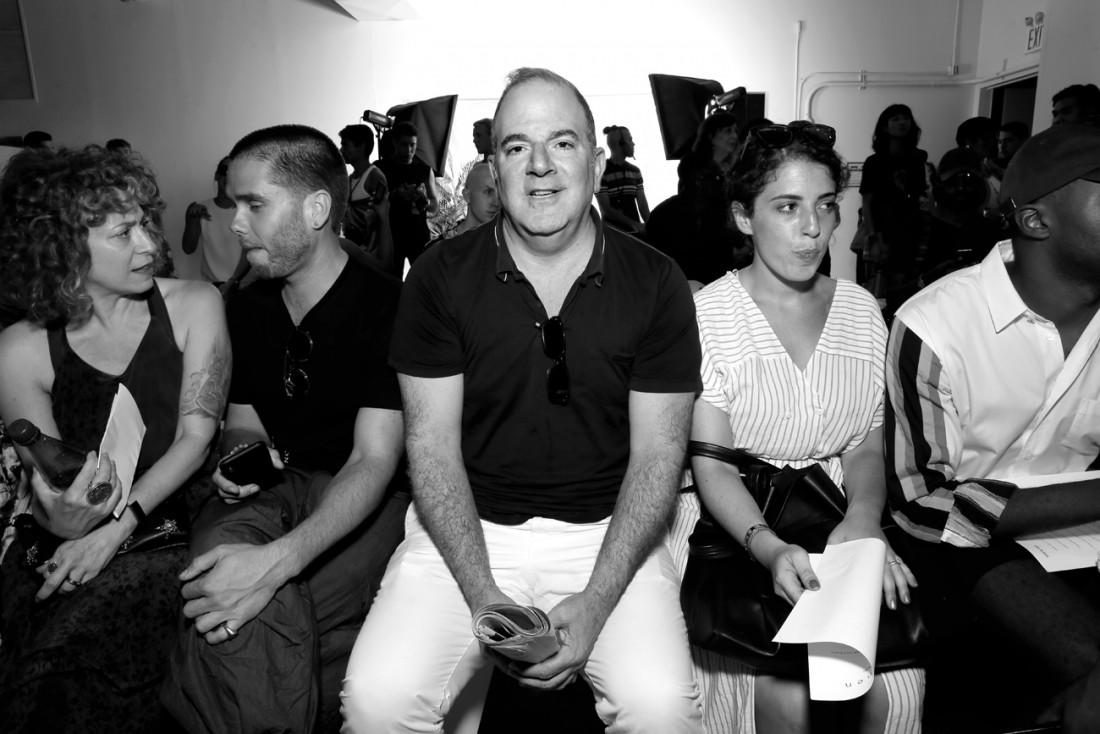 Front Row@PARKE RONEN Mens NYFW SS2019 photo by Cheryl Gorski 2