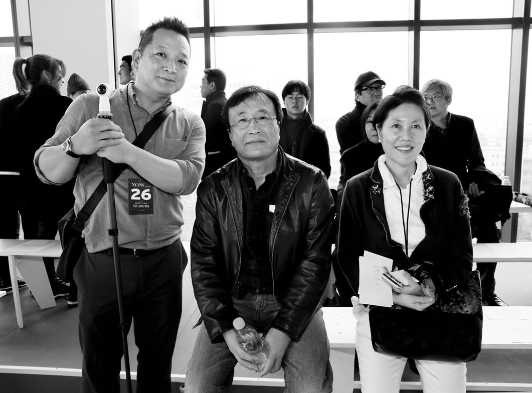 Front Row@Son Jung Wan NYFW FW2018 photo by Cheryl Gorski 1