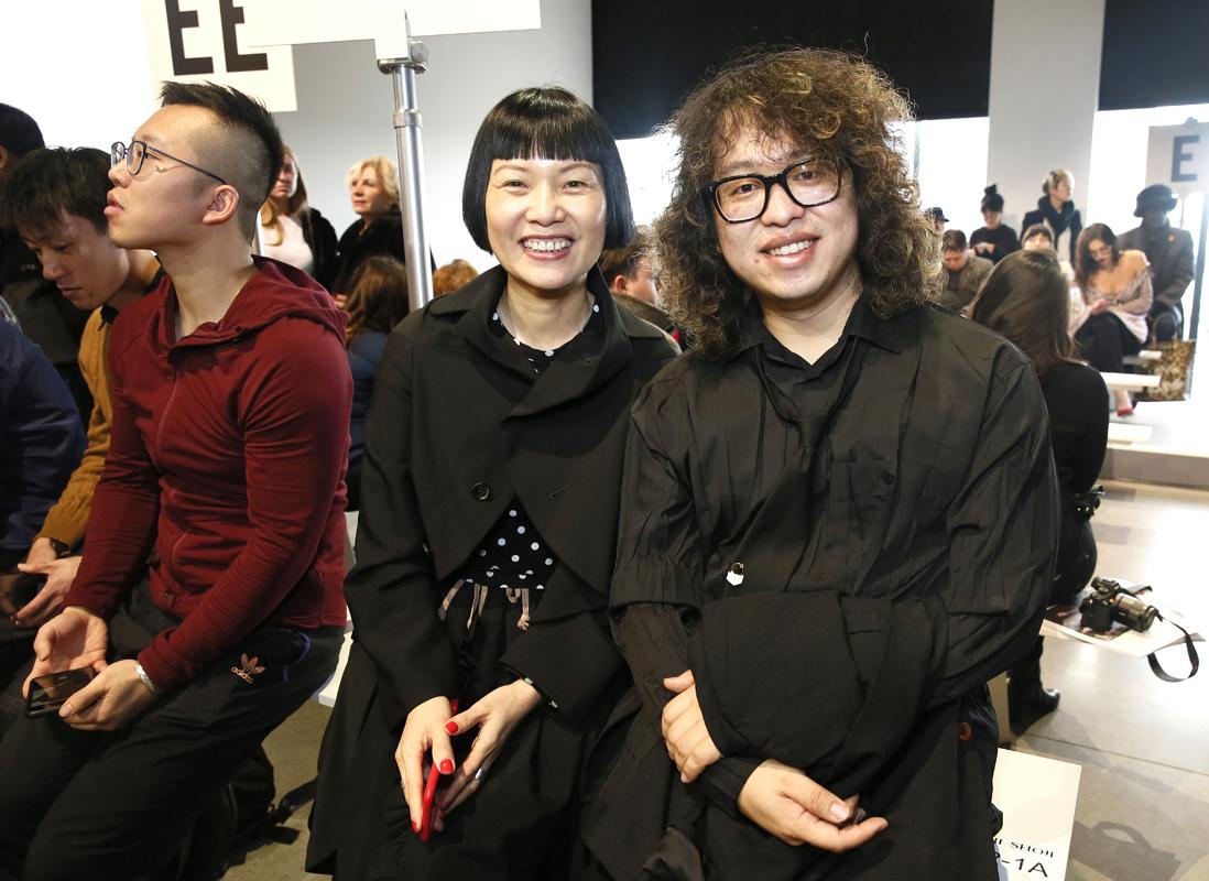 Front Row@Tadashi Shoji NYFW FW2018 photo by Cheryl Gorski 10