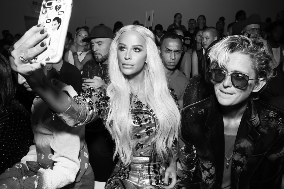 Front Row@The Blonds NYFW SS2019 photo by Cheryl Gorski