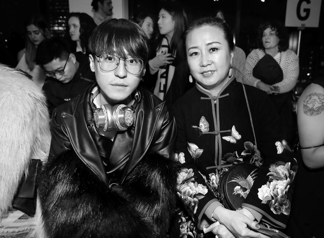 Front Row@Yajun NYFW FW2018 photo by Cheryl Gorski 14