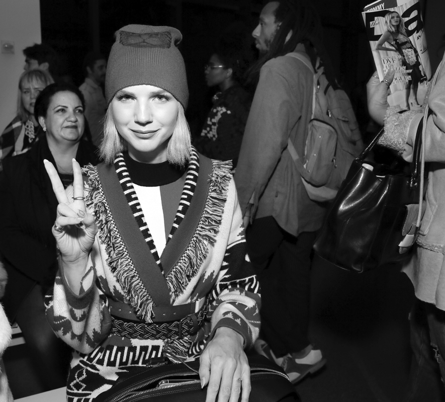 Front Row@Yajun NYFW FW2018 photo by Cheryl Gorski 28