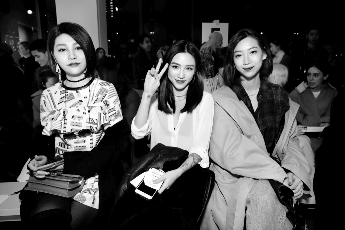 Front Row@Yajun NYFW FW2018 photo by Cheryl Gorski 4