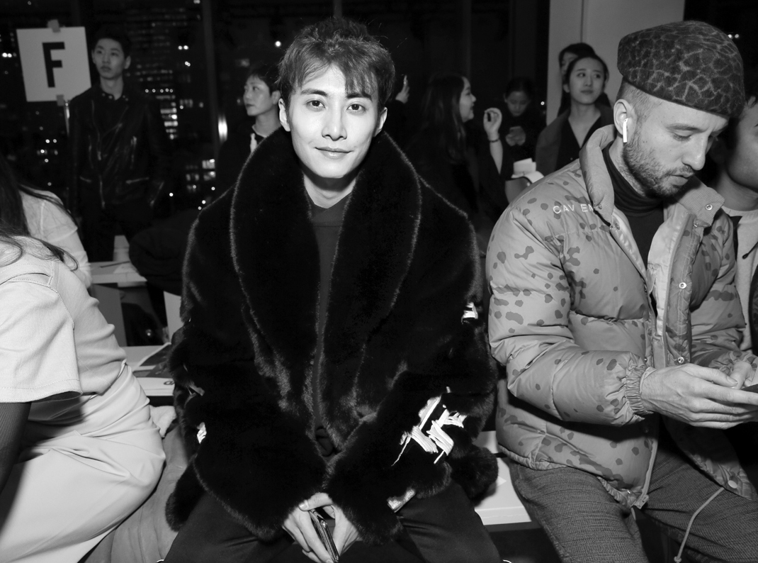 Front Row@Yajun NYFW FW2018 photo by Cheryl Gorski 7