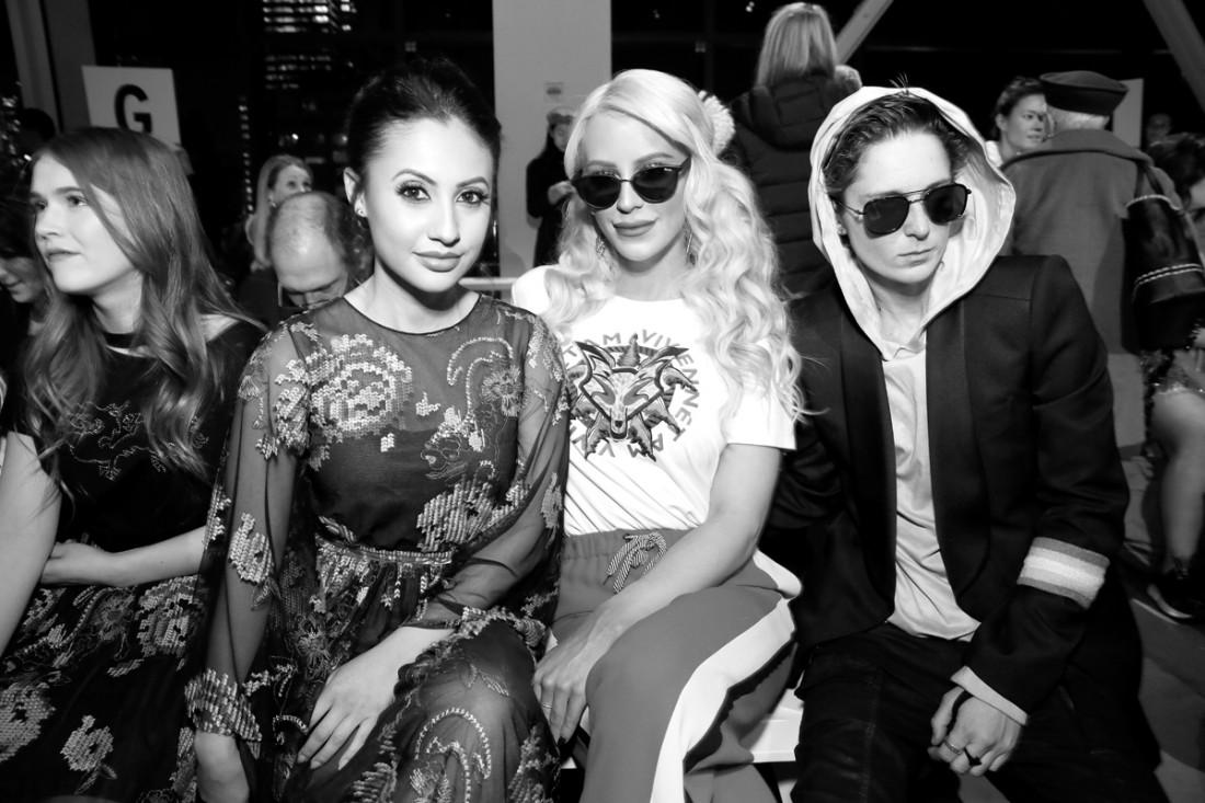 Gigi Gorgeous and Nats Getty Front Row@Vivienne Tam NYFW FW2018 photo by Cheryl Gorski 34