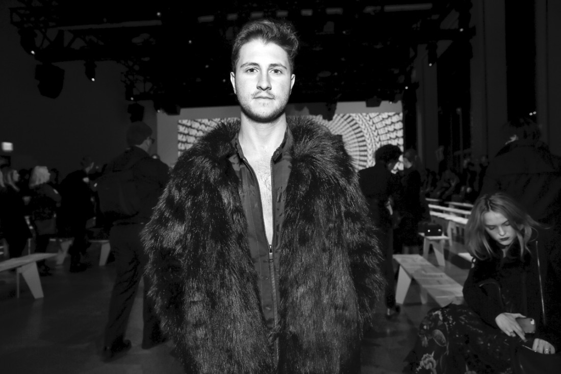 Jeff Perla Front Row@Vivienne Tam NYFW FW2018 photo by Cheryl Gorski 31