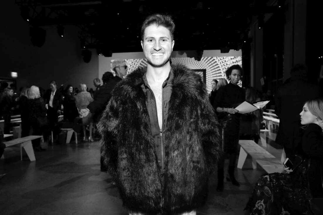 Jeff Perla Front Row@Vivienne Tam NYFW FW2018 photo by Cheryl Gorski 32