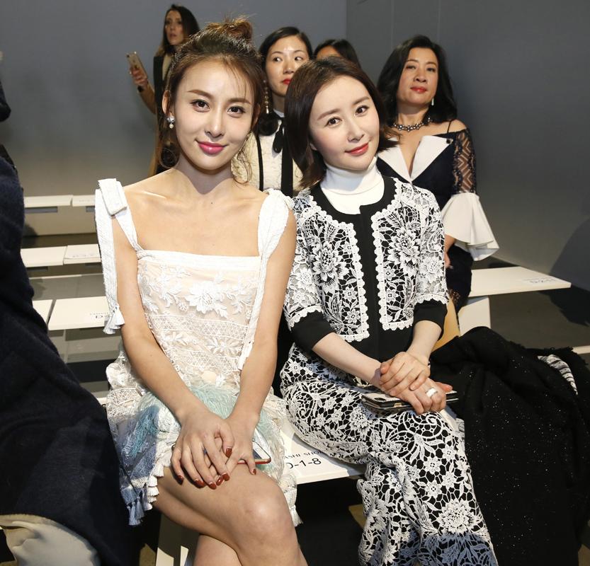 Jia QingShu Chang@Tadashi Shoji NYFW FW2018 photo by Cheryl Gorski 9