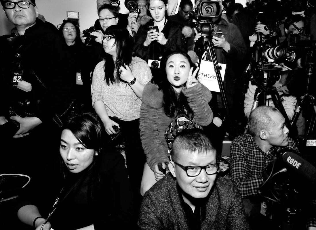 Leah Kim Front Row@Vivienne Tam NYFW FW2018 photo by Cheryl Gorski 33