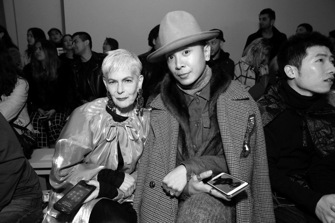 Lyn Slater @iconaccidental Front Row@Yajun NYFW FW2018 photo by Cheryl Gorski 10