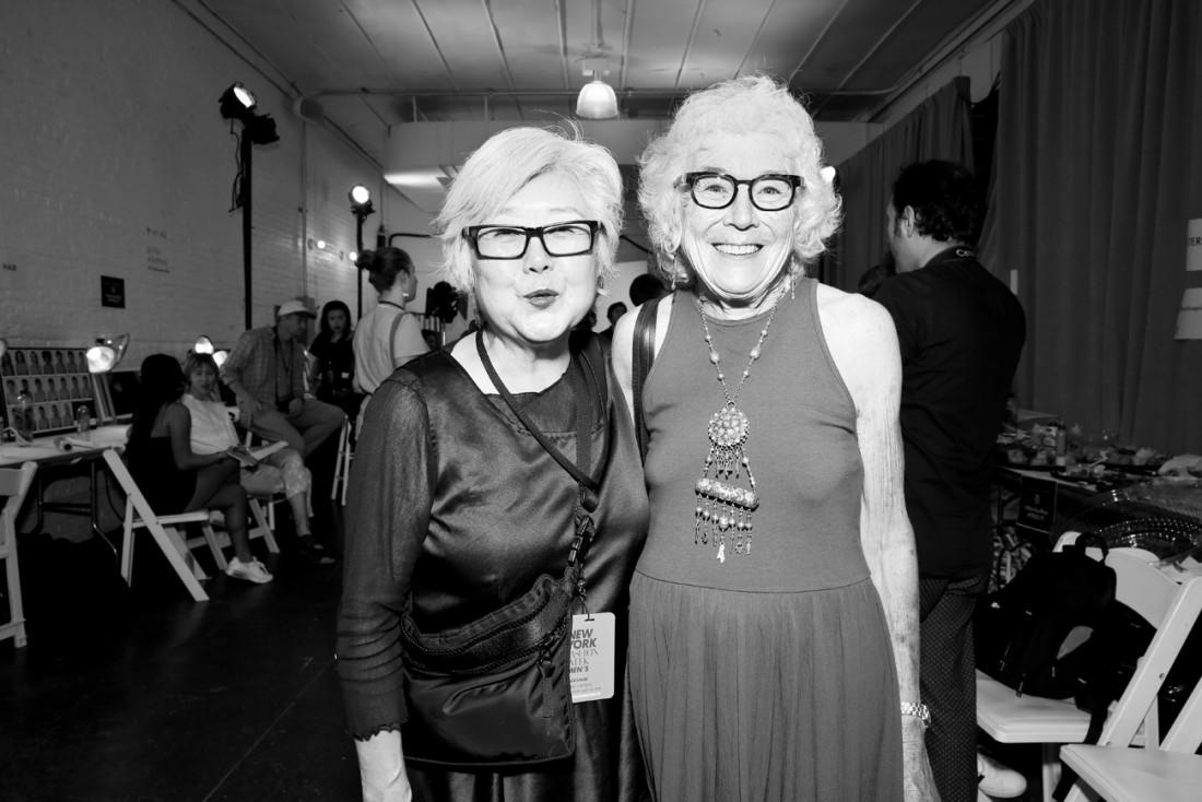 Lynne Oneil @Parke Ronen Mens NYFW SS2019 photo by Cheryl Gorski 13