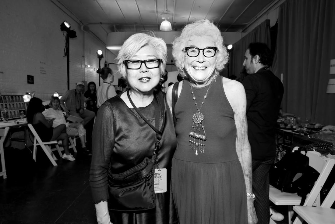 Lynne Oneil @Parke Ronen Mens NYFW SS2019 photo by Cheryl Gorski 14