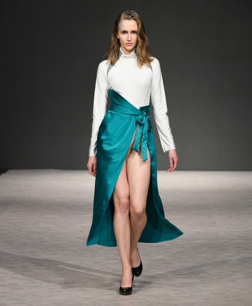 MAXIME EDWARD Vancouver Fashion Week SS2019 photo by Arun Nevader for Getty Images 12