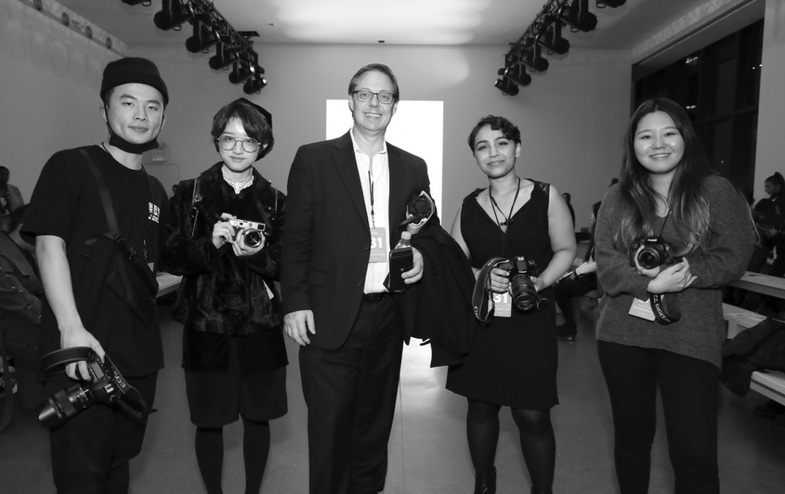 Parsons Students Professor Thomas Werner@ Asia Fashion Collective NYFW photo by Cheryl Gorski 3